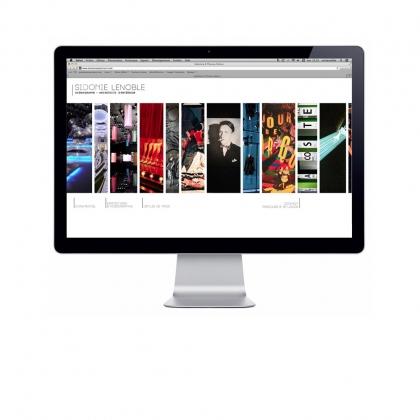 site sidonie lenoble - display